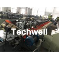 China Octagonal , Octagon Pipe Roll Forming Machine for Rolling Shutter Axes With Manual Decoiler / Uncoiler wholesale