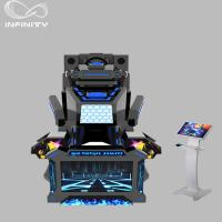 China 1 Seat Real Track VR Racing Simulator / 360 Degree Electric Motion  Car Racing Machine wholesale