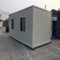 China small and exquisite 20ft prefab container homes for office and labour camps on sale
