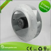 Quality 310mm EC Motor Backward Curved Centrifugal Fan , Brushless DC Fan Blower for sale