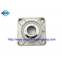 China Stainless Steel SUCF205-16 Mounted 1 Inch Pillow Block Bearing 4 Bolt Flange Bearing Plummer Block wholesale