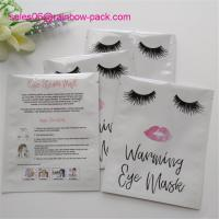 Quality Eco Friendly Cosmetic Compact Packaging Face Mask Sachet Solution Skin Care Bags for sale