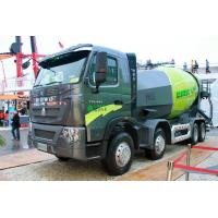 China 12m³ Cubage Mixer Concrete Truck With ZF8118 Steering Gear Box wholesale