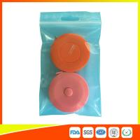 China Reusable Zip Lock Bags Vacuum Seal With Hanging Hole For Sample Packing wholesale