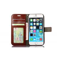 China Side Open Custom Wallet Cell Phone Case , Horse Magnetic Leather Case Apple Iphone8 on sale