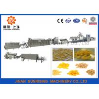 China Long Performance Corn Flake Production Line For breakfast cereal , Energy Saving wholesale