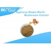 China Yellow Polysaccharides Powdered Herbal Extracts Agaricus Blazei Murrill Extract wholesale