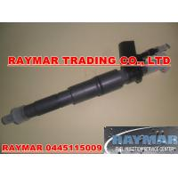 China Bosch common rail injector 0445115009 for BMW E65 745D 13537793652 wholesale