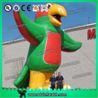 China 6m Giant Inflatable Parrot Birds with Blower for Outdoor Advertisement or Promotion wholesale