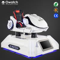 China Owatch-Stable 9D VR Cinema Driving Car Game Virtual Reality 9D Racing Simulator wholesale