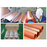 China 25 Mic LP Electrolytic Copper Foil 500 - 5000 Meter Length Per Roll wholesale