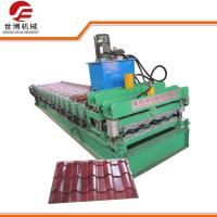 China 808 Model Glazed Tile Making Machine Running Stably For Construction Materials wholesale