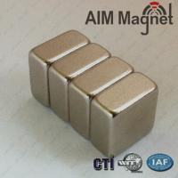 China Customized Professional High Quality Super Magnetic Force N52 Neodymium Magnets 1/4  x 1/ on sale