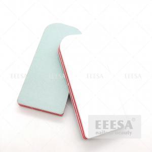 China Double Sides Portable Square Salon Mini File Sponge Nail Buffer Block wholesale