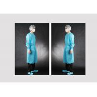 China Custom Size Disposable Medical Protective Apparel Dustproof Waterproof wholesale