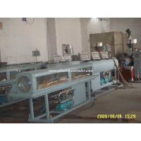 China Health Drinking Water PVC Pipe Manufacturing Plant , Pipe Extrusion Machine wholesale