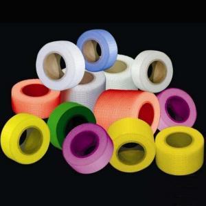 China 50mm Width 150m Length 65g Self Adhesive Fiberglass Tape wholesale