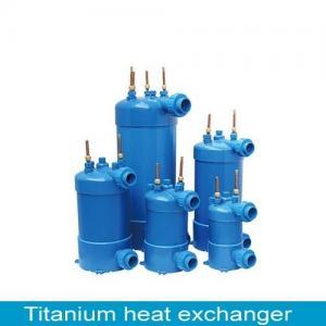 China titanium tube heat exchange for swimming pool wholesale