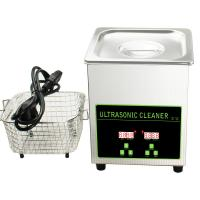 China Table Top Ultrasonic Cleaner Machinery For Jewelry / Machine Parts / Watch wholesale