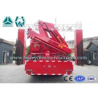 Quality Red ISUZU Rescue Fire Fighting Truck For Oil Jetty , Fire Service Vehicles for sale