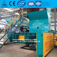 China Semi-automatic Baler Press waste carton paper plastic pet Bottle Baler Machine / hydraulic semi-automatic baler press wholesale