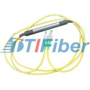 China FC ST LC SC MU Fiber Optic Attenuator for SM MM Fiber on sale