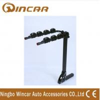 China 4 Bike Rear Mounted Car Bike Carrier Iron Hitch 50 x 50 x 3mm wholesale
