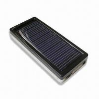 China Solar Mobile Phone Charger with Output Current of 350 to 800mAh and Output Voltage of 5.0 to 6.0V wholesale