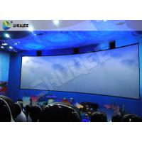 China Specific Design 5D Cinema System With Red Black Motion Chairs In High Synchronized Performance wholesale