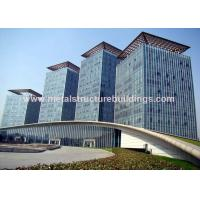 China Safe Galvanized Prefabricated Steel Structures For Infrastructure Building wholesale