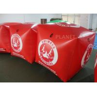 China Sealed Air 1.5M Inflatable Marker Buoy For Advertising Red Color wholesale