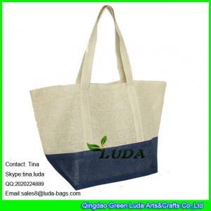 China LUDA color block beach bag fashion women