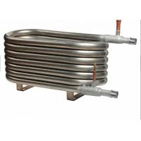 China Titanium Coaxial Heat Exchanger Low Power Consumption For Manufacturing Plant wholesale