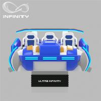 Quality Multi - Player 9D Virtual Reality Cinema Motion Simulator Logo Customization for sale