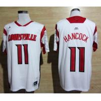 Quality NCAA Louisville Cardinals 2013 March Madness Luke Hancock 11 Jersey - White for sale