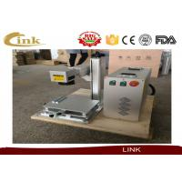 China CNC Marking Machine / 20W 30W 50W Mini Fiber Laser Marking Machine Metal Marking Laser Engraving Machine For Plastic on sale