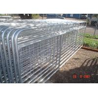 China Horse Corral Panels Powder Coated 6 Bars Cattle for Famr and Yard on sale
