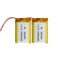 China Portable Source 1000mAh 3.7 V Lithium Polymer Battery wholesale