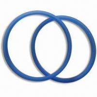 China Blue O-ring, Made of 100% Food Grade Silicone, Any Colors Available wholesale