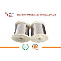 China 0cr21al4 Fecral Alloy Ribbon / Flat Wire No Burr For Mica Heater Elements wholesale