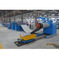 China CNC Steel Coil Straightening Machines , Heavy Sheet Metal Coil Cutting Machine on sale