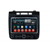 Quality VW Touareg Volkswagen GPS Navigation System Android OS DVD Player SWC BT Radio TV for sale