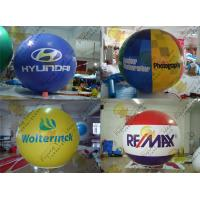 China 2.5m Thickness PVC Large Inflatable Balloons Fire Resistance For Outdoor Decorations wholesale