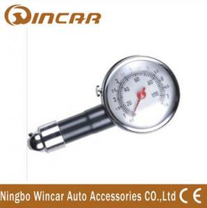 China Portable Tire Inflator Digital Tire Pressure Gauge , Mini precision tire pressure gauge wholesale