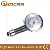 China Portable Tire Inflator Digital Tire Pressure Gauge , Mini precision tire pressure gauge wholesale