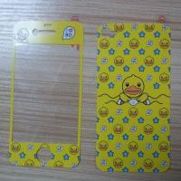 China Printed/Phone Stickers/Film Skin Screen Protectors for iPhone 4/5, CMYK Printing wholesale