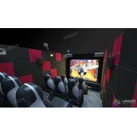 China Mini Mobile 5D Cinema Theater For Science / Amusement Novel And Unique Experience wholesale