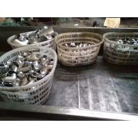 China Polished 2205 DIN W . Nr 1 . 4462 Duplex Steel Pipe Fittings Elbow / Equal Tee For Oil wholesale