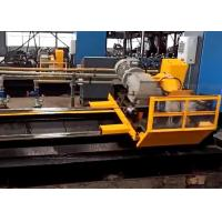 China Stable performance servo motor tube cold cut flying saw machine for metal forming wholesale
