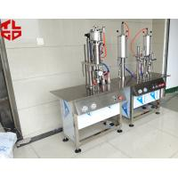 China Semi Automatic Aerosol Can Filling Machine For Anti Rust Spray / Mould Release Spray wholesale